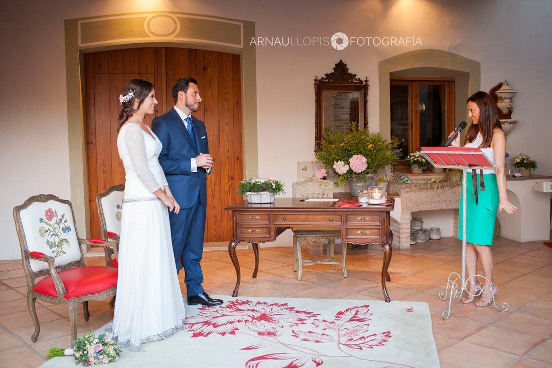 Ceremonia de boda Valencia