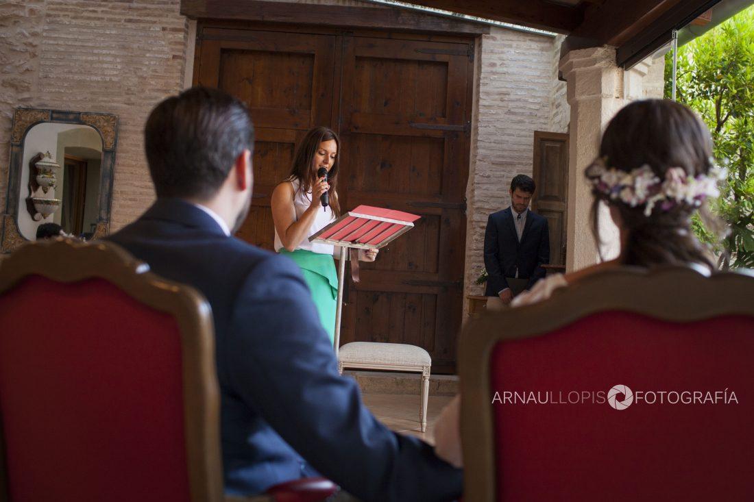 Oficiante de ceremonias Valencia