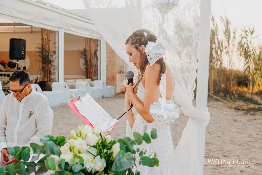 lectura de ceremonia civil