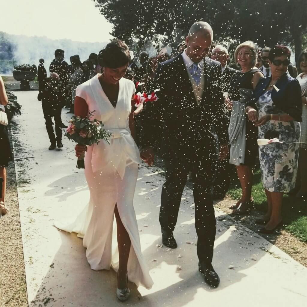 Salida de novios de ceremonia