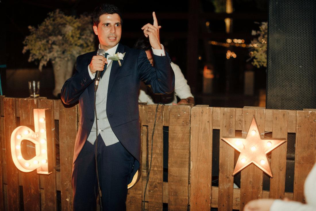 novio en su boda