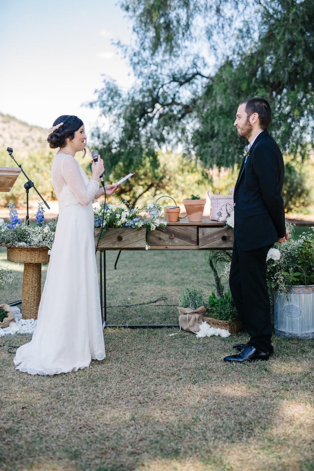 Votos de ceremonia de boda