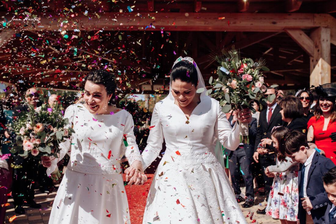 salida ceremonia novias