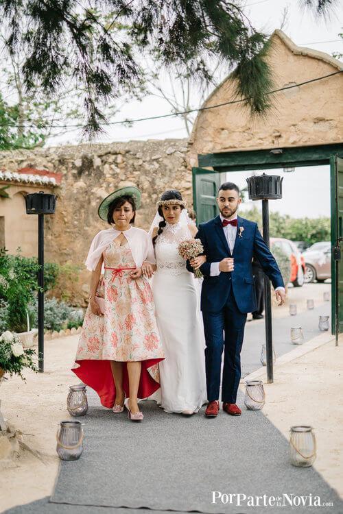 Entrada novia a la ceremonia