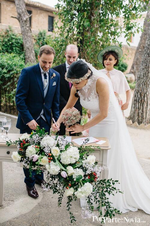 Firma ceremonia civil