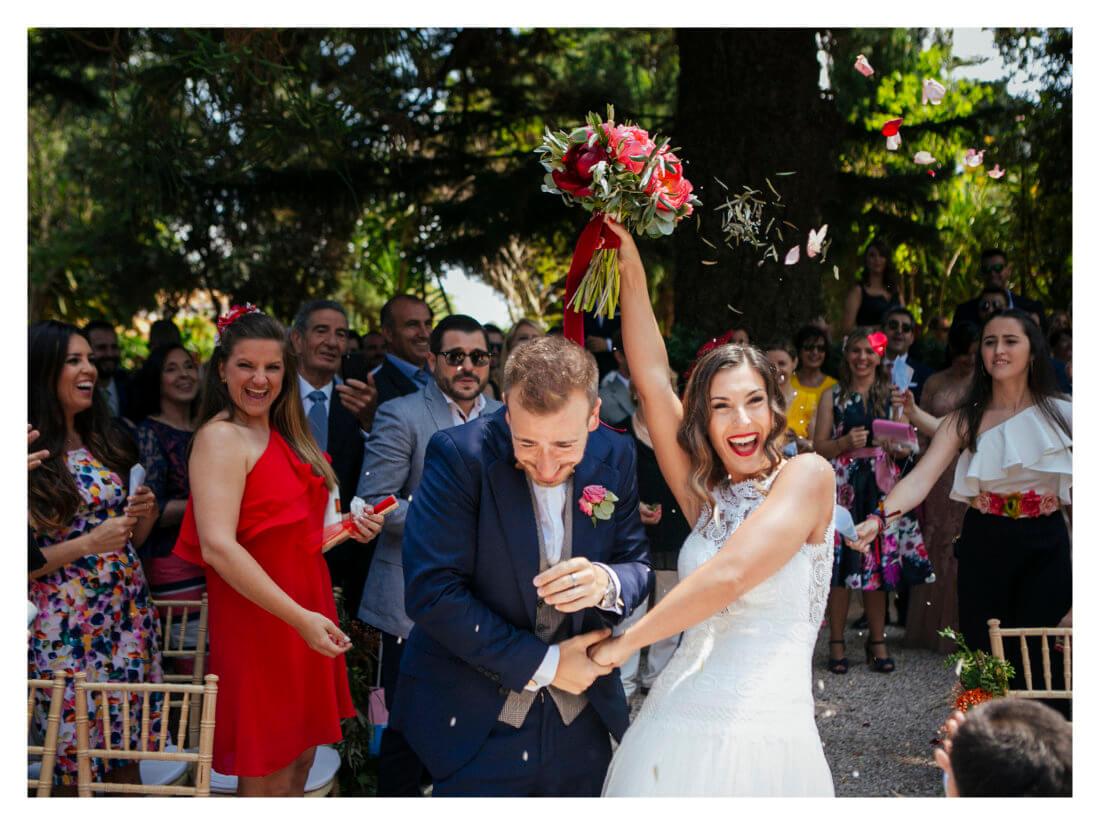 Arroz en la ceremonia civil