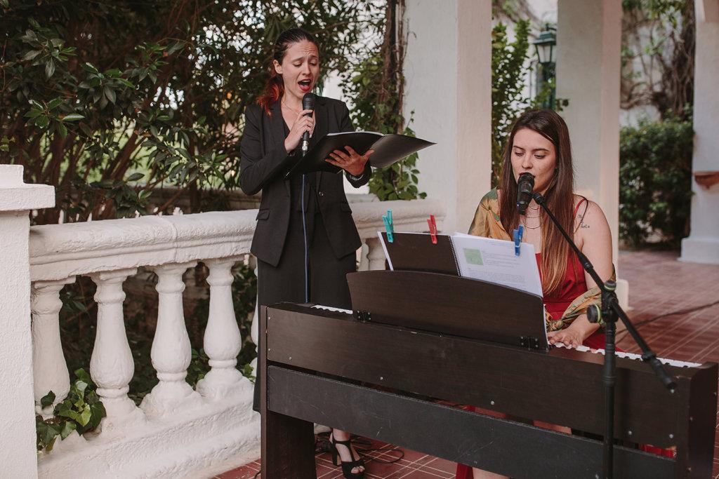 guión de música en ceremonia civil