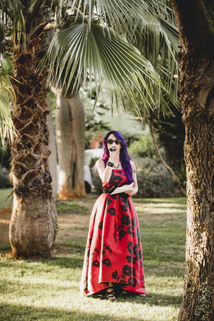 cantante en boda civil