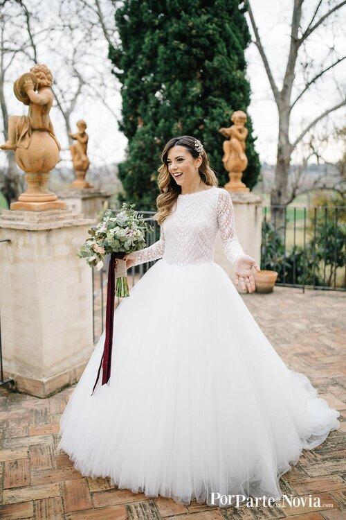 Novia en su boda