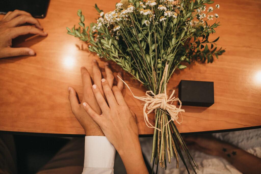 boda en la notaría