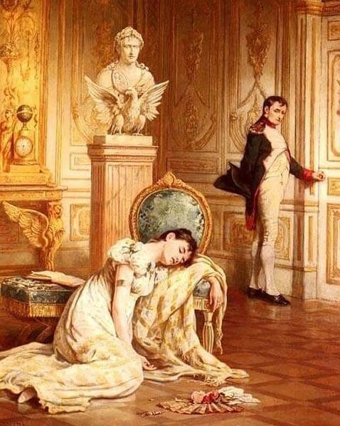 «Despedida de Napoleón a Josefina»