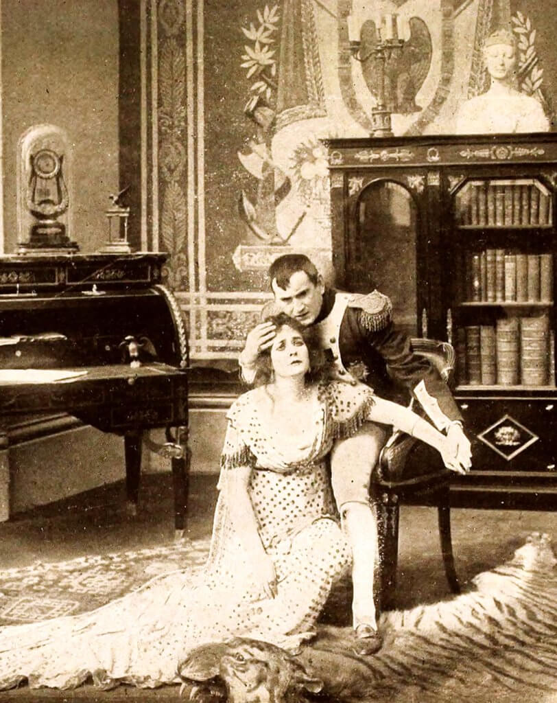 'Napoleón y la Emperatriz Josephine'