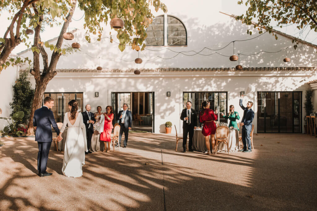 la boda de 11 personas